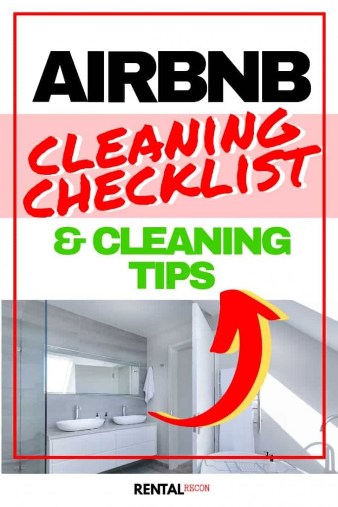 Ultimate Airbnb House Cleaning Checklist & Tips | Rental Recon