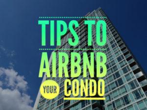 AirBNB Condo Extra Income