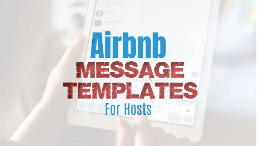 Airbnb Message Templates