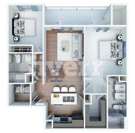 Airbnb Listing- Floor Plan