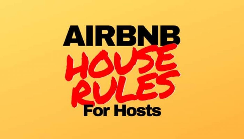 Airbnb House Rules Examples Template Samples