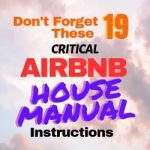 Airbnb House Manual