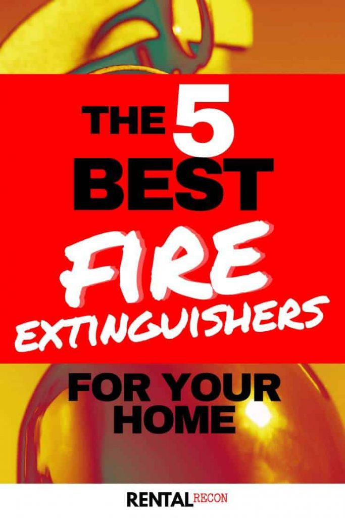 Best Fire Extinguishers For Home Use