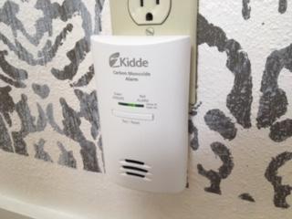 Airbnb Carbon Monoxide Detector
