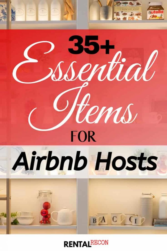 Airbnb Essential Items