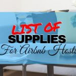 Airbnb List of Supplies