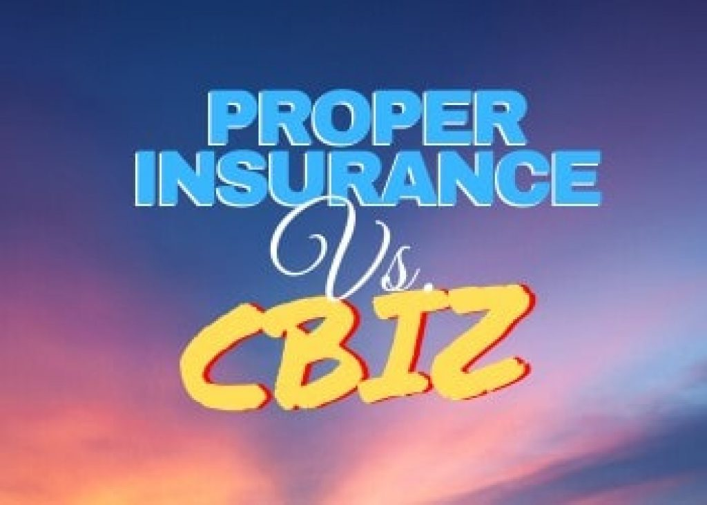Proper Insurance vs. CBIZ Review