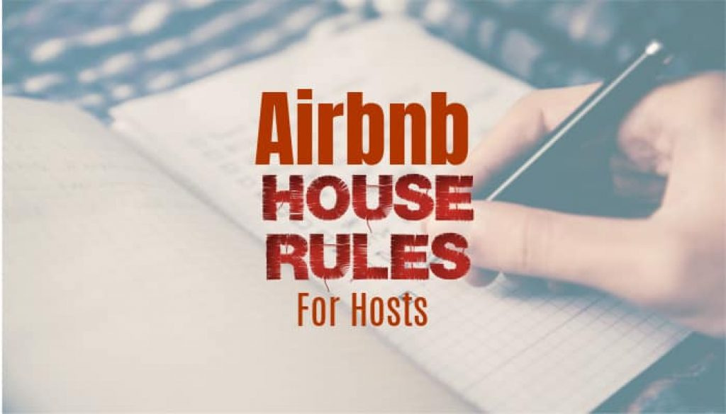 Airbnb House Rules Template Samples Examples