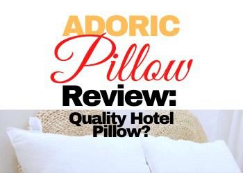 Adoric Pillow Review 2021 A Hotel Quality Memory Foam Pillow