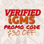 iGMS Promo Code
