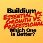 Buildium Essential Vs. Growth Vs. Professional