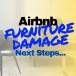 Air Bnb Furniture Damage Photo